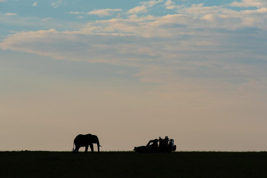 Amboseli-National-Reserve View